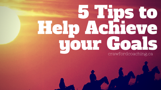 5 Tips for GoalAchievement