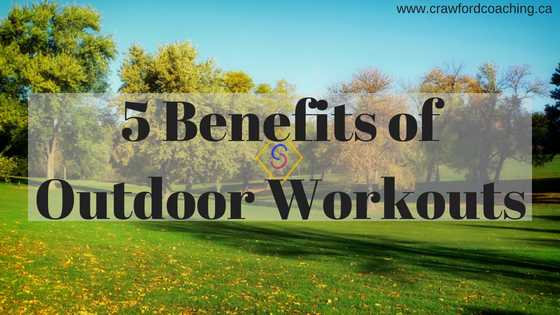 The Benefits of Outdoor Workouts