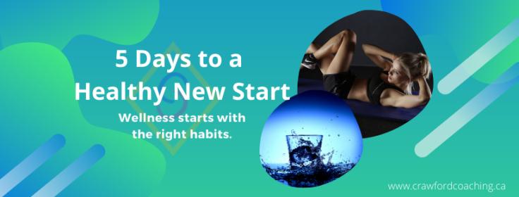 Free challenge to improve health habits.