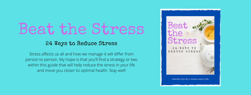 Free Beat the Stress Guide with 24 stress busting techniques